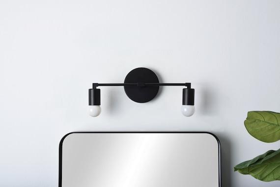 Moderne Badezimmer Licht Mid Century Wandleuchte 2 Licht Etsy