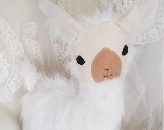 Super Soft Fluffy Llama Stuffed Animal