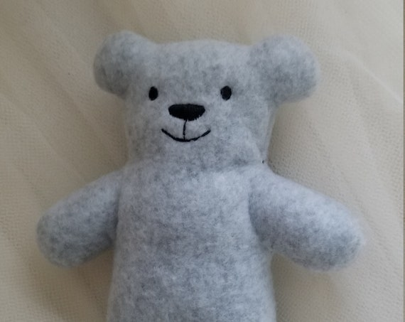 X-Small Fleece Stuffed Bear