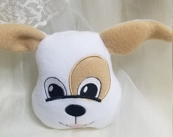 Puppy Face Stuffed Toy