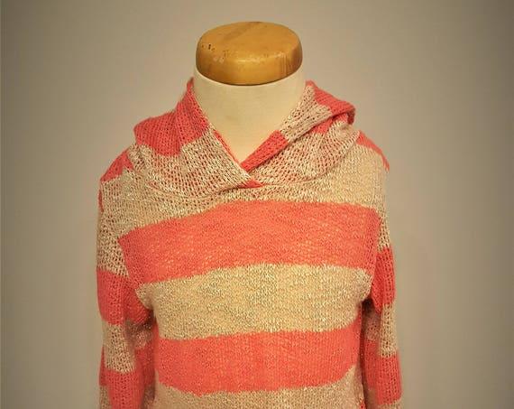 Peach Sweater Hoodie
