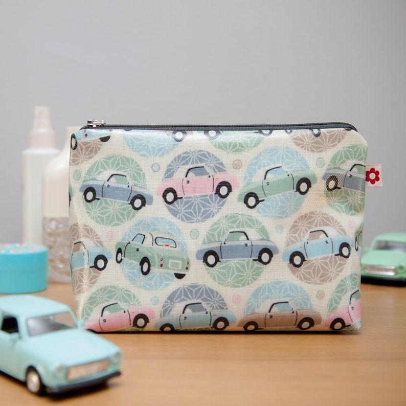 Figaro Oilcloth Washbag by Susie Faulks/ Bag/ Oilcloth Bags/ image 0