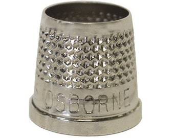 Osborne Open End Thimble 510-7 C.S Sewing /& Leather Work 5//8