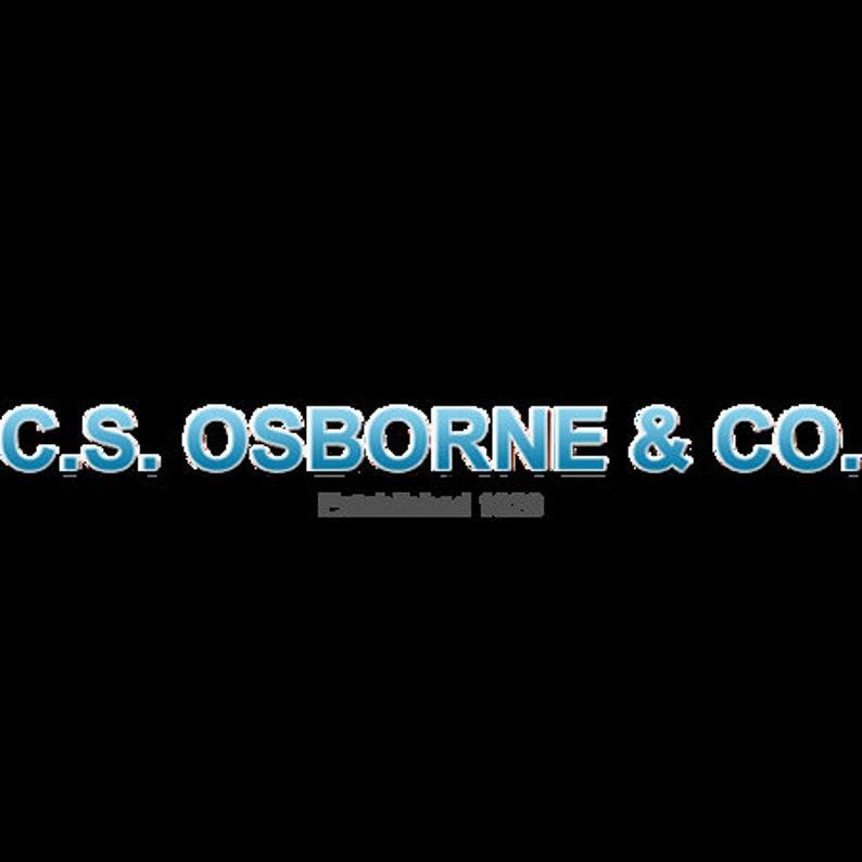 C.s Osborne /& Co bent Shank Bissonnette Edge Tool - Size #2 127.5-b No