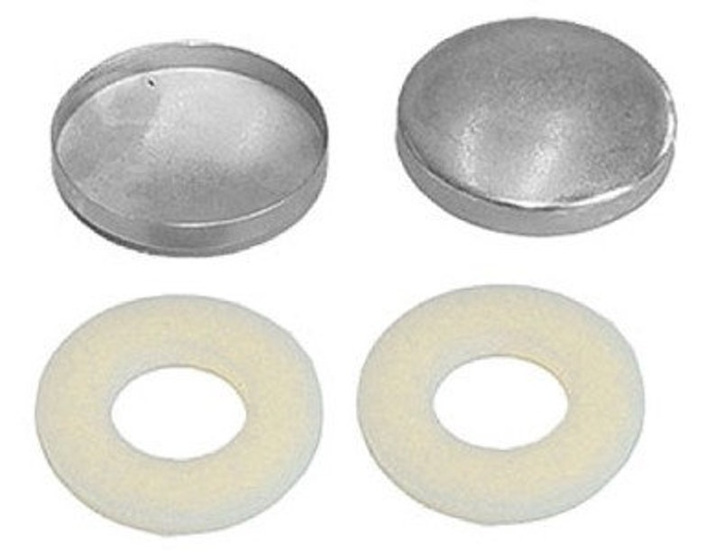 "50:Osborne Button-Wire Eyes w//Aluminum Shells  #44 77030 9//16/"" dia Size 22"