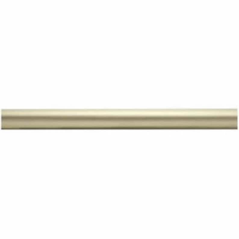 Kirsch Wood Trend Kit2 Smooth Pole+long Bracket+ball Finial,satin Gold4 FT