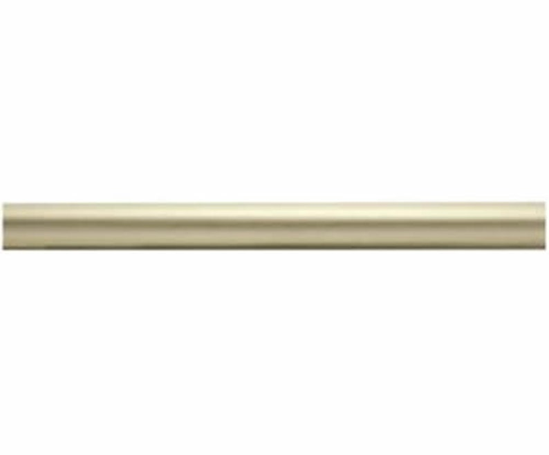 Kirsch Wood Trends Classics Smooth 2 Drapery Pole # 55014g894 Satin Gold 4 Ft