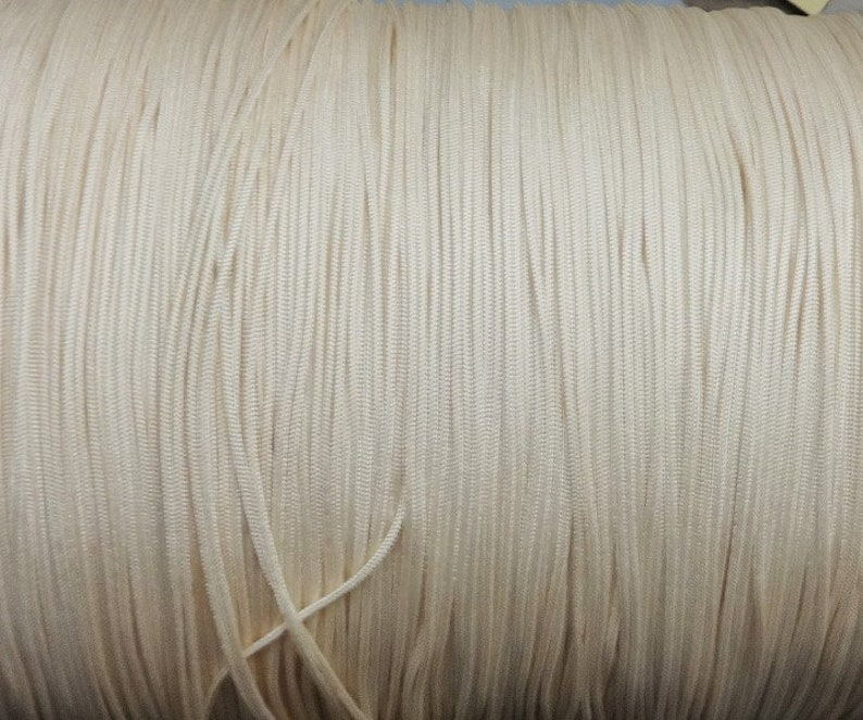 10 Yards  2.0mm  Warm Alabaster Traverse Cord For Vertical Blinds /& Draperies
