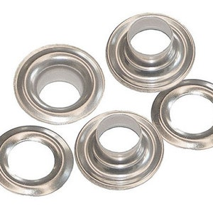 Soft Shell /& Spring Washer SIZE 30 144:Osborne Covered Button Kit-Threaded Nail