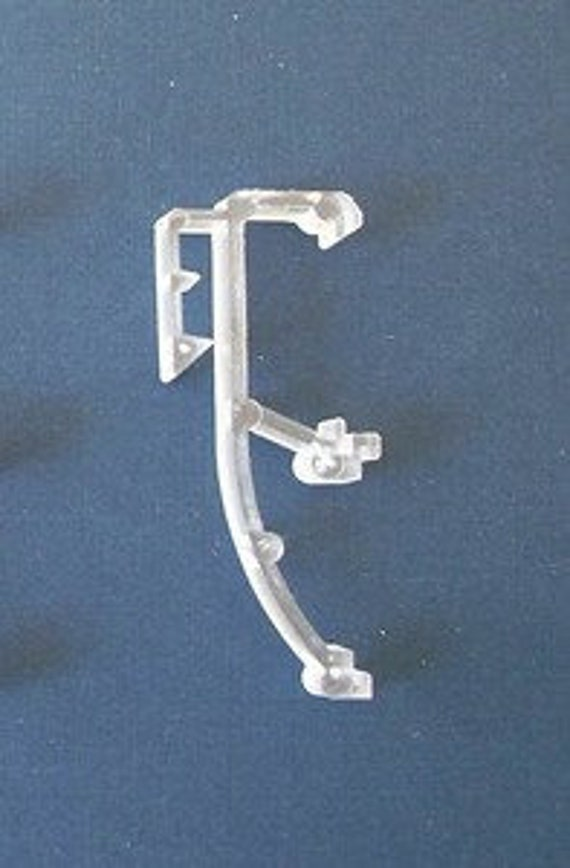 24 Clear Mini Blind Wand for Home or RV w//built in tip...Ready To Hang 2 QTY