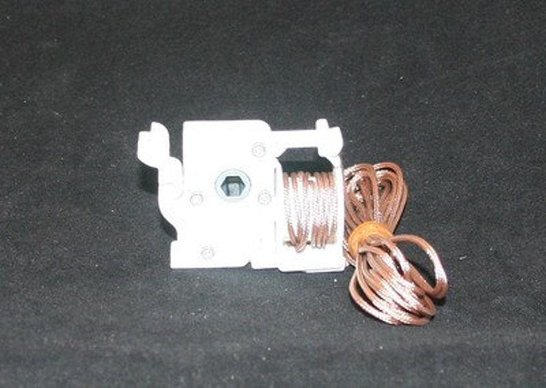 Pre-corded Low Profile Cord Tilt Control  For Horizontal Blinds hex Rod Brown