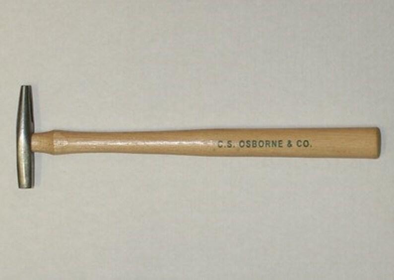 "Osborne /& Co MPN# 11058 No.196-3 :1-3//4/"" Solid Head Rawhide Mallet,Size 3 C.S"