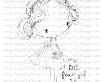 My Little Flower Girl