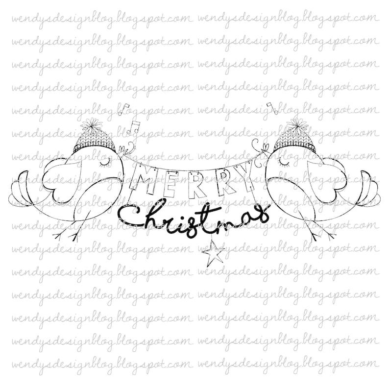 Christmas Robins image 0