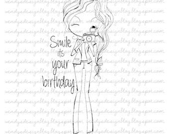 Glimlach zijn uw verjaardag