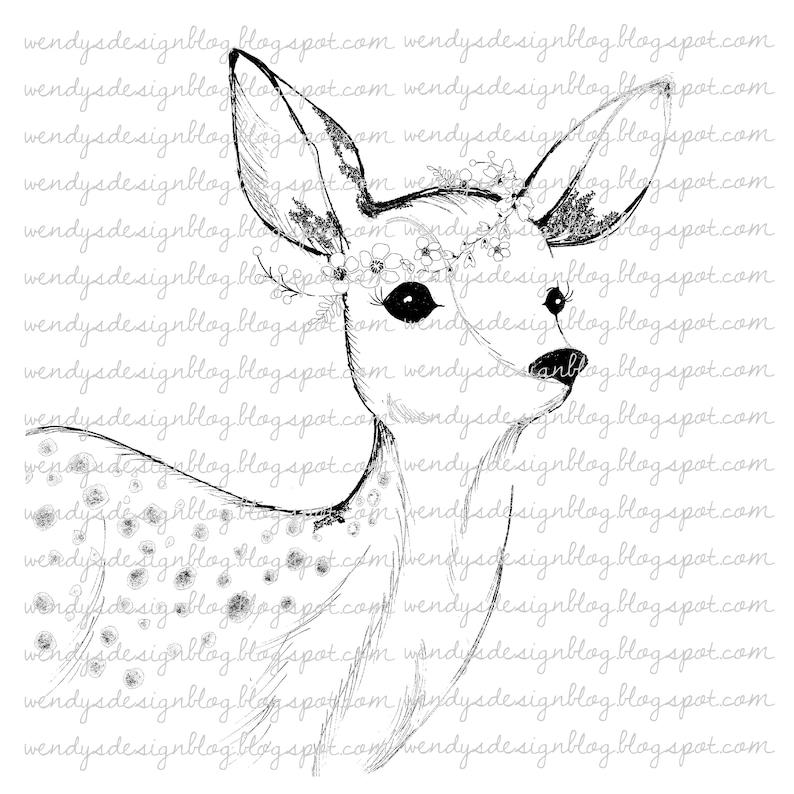 Christmas deer image 0