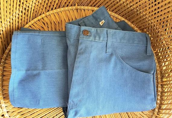 Vintage Men's Dickies Blue Jeans, Vintage Blue Jea
