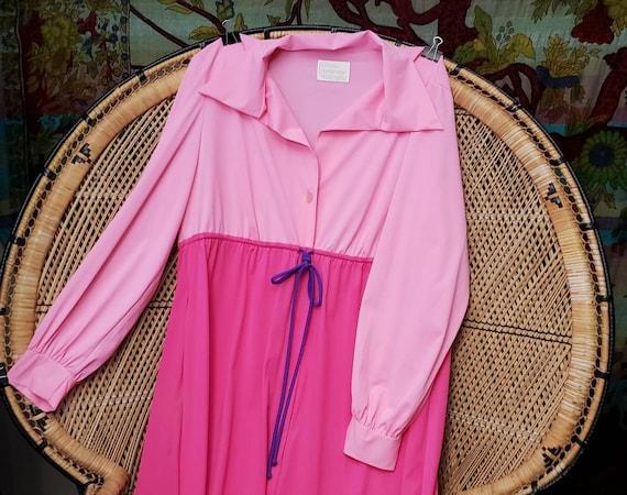60s Pink Loungewear By JCPenney, Vintage Loungewea