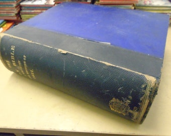 Holy Bible- Reprint of 1611 version.  Published by Samuel Collingwood 1833