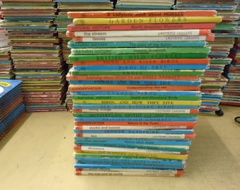 Set of 29 Historical figures Ladybird Books.  Mostly Good-VG condition