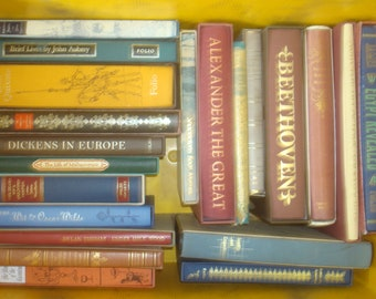 Set of 21 People & Places Folio Society Books. 20 with slipcases
