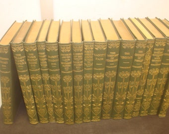 Set of 16 William Makepeace Thackeray Books. Henry Frowede/ Oxford University