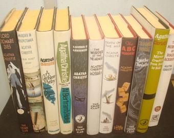 Set of 11 Facsimile Reprints of Agatha Christie Books