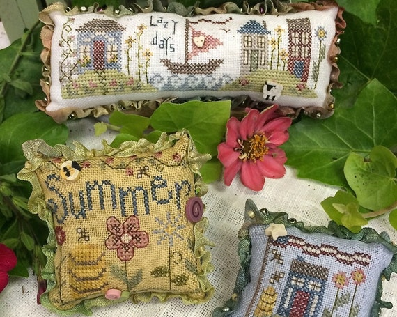 Summer Trifles - Shepherd's Bush - Cross Stitch Chart