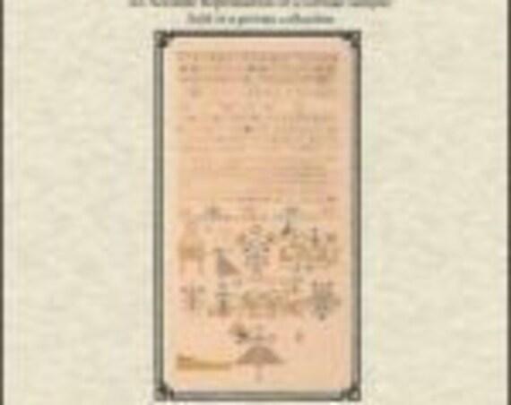 German Saxon 1737 - Queenstown Sampler Designs - Cross Stitch Chart