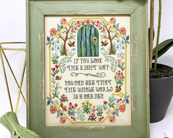 Secret Garden - Tiny Modernist - Cross Stitch Chart