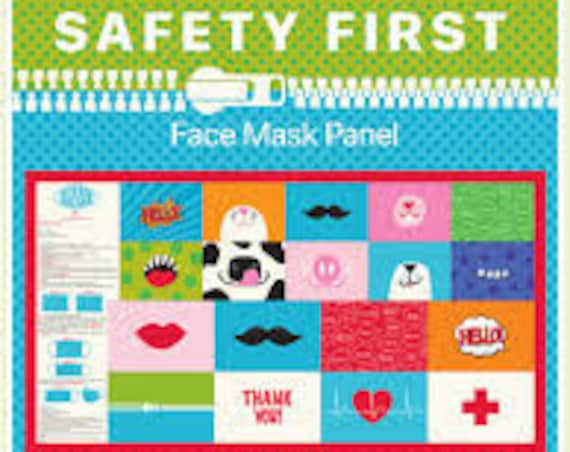 Safety First - Face Mask Panel