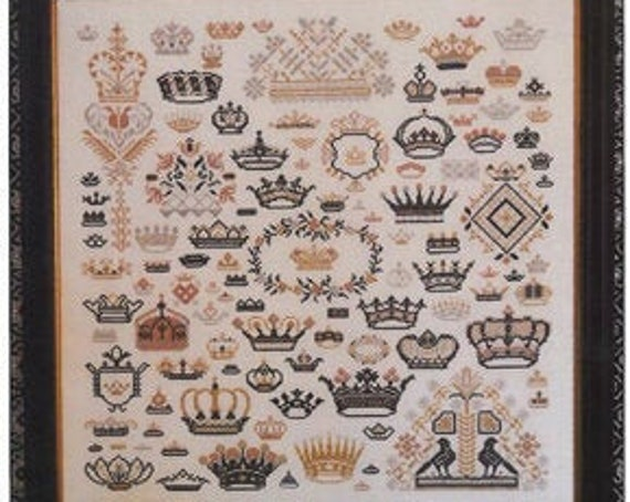 Crowns of the Kingdom - Rosewood Manor - Cross stitch chart