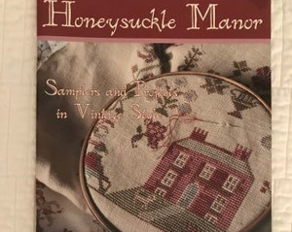 Honeysuckle Manor - Blackbird Designs - Cross stitch chart