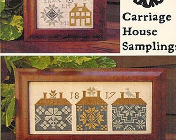 Quaker House Samplers - Carriage House Samplings - Chart Only