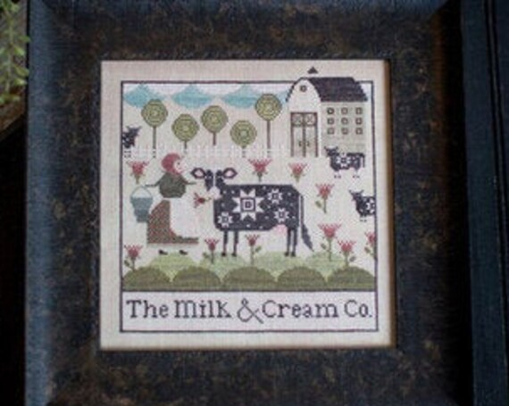 The Milk and Cream Co. - Plum Street Samplers - Cross Stitch Chart