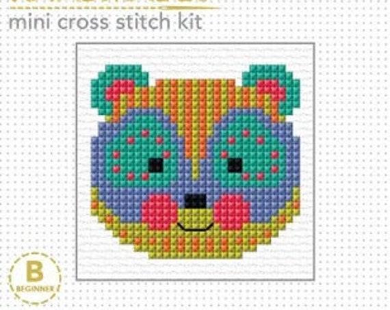 Cross Stitch Starter Kit - Bear