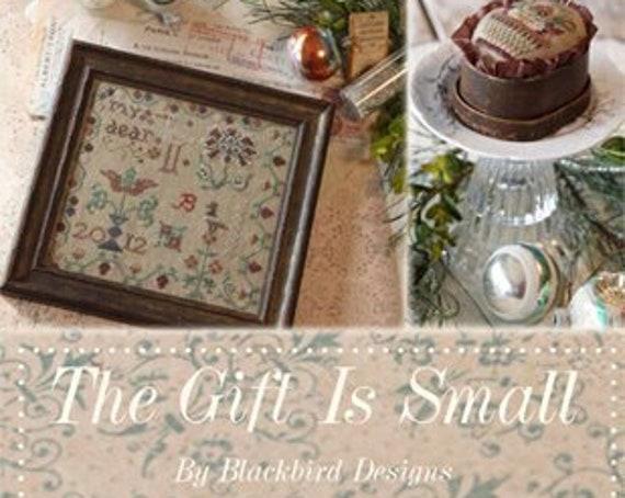 The Gift is Small - Blackbird Designs - Cross stitch chart