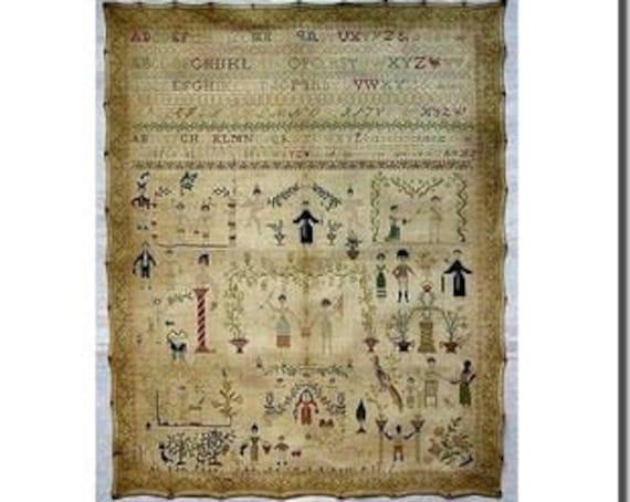 Maria's Sampler 1831 - GiGiR - Chart