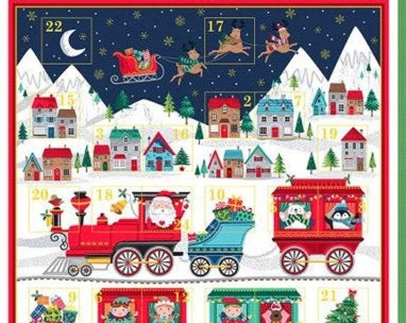 Santa Express Advent Calendar M23871 - Panel