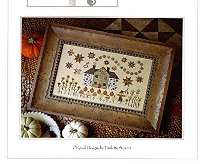 Cinnamon Stars - Plum Street Samplers - Cross Stitch Chart