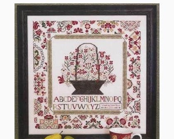 Cornwall Cottage Sampler - Rosewood Manor - Chart only