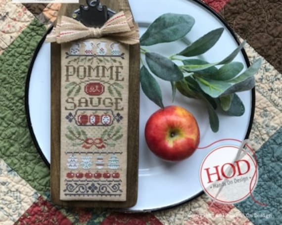 Pomme et Sauge - Hands On Design - Chart + Wool Patch