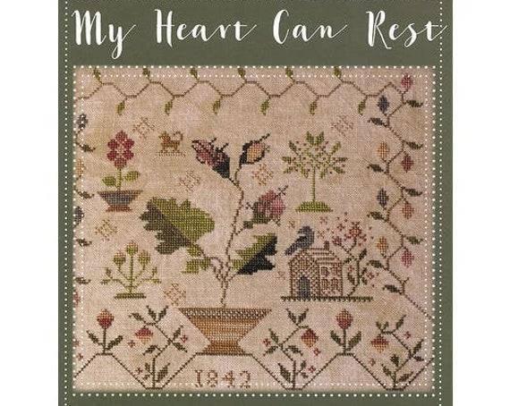 My Heart Can Rest - Blackbird Designs - Cross stitch chart