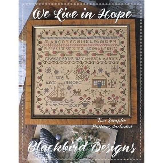 We Live In Hope - Blackbird Designs - Cross stitch chart