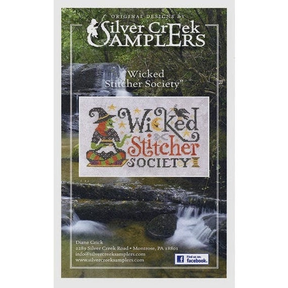 Wicked Stitcher Society - Silver Creek Samplers - Cross Stitch Chart