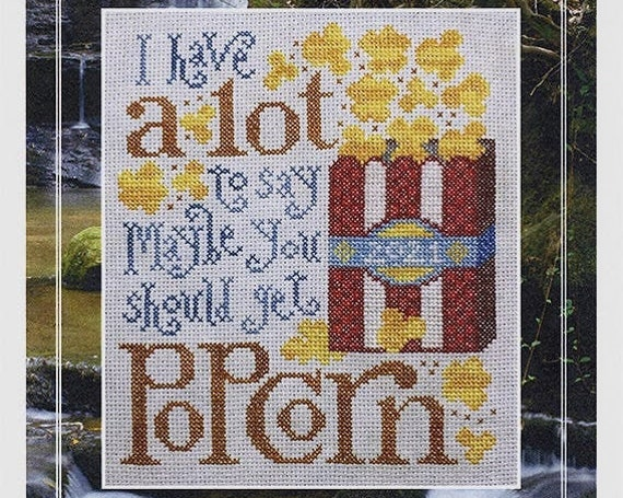 Butter Believe It - Silver Creek Samplers - Cross Stitch Chart