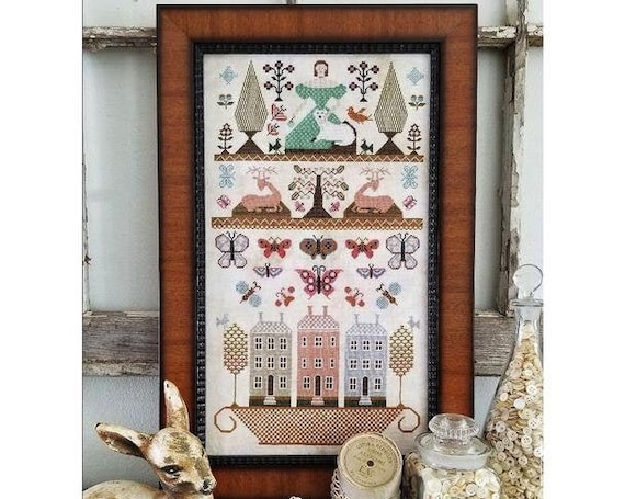 Pieces of Olde by Kathy Barrick - Chart Only