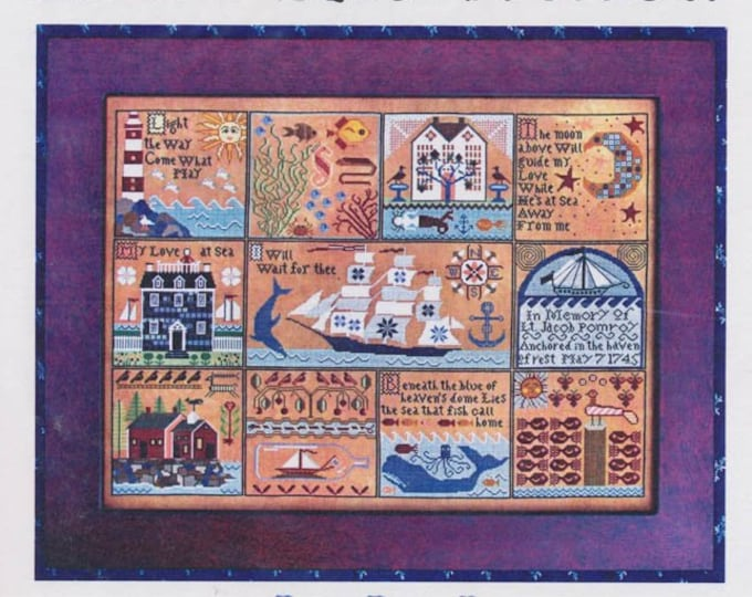 Shores of Hawk Run Hollow - Carriage House Samplings - Cross Stitch Chart