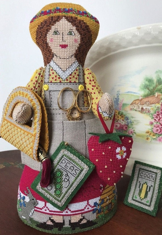 Flossy's Garden - The Needle's Notion - Cross Stitch Chart