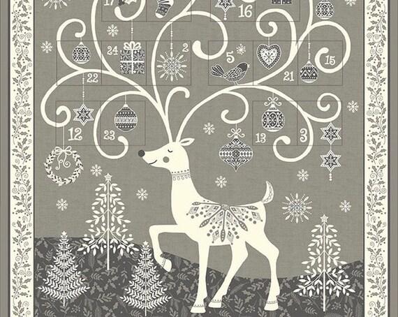Scandi Advent Calendar M2110S - Fabric Panel